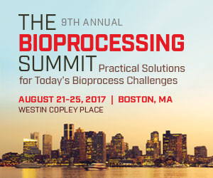 The BioProcessing Summit 2017 banner